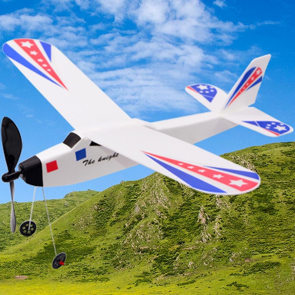 Самодельные образовательные игрушки 3D планирующий самолет