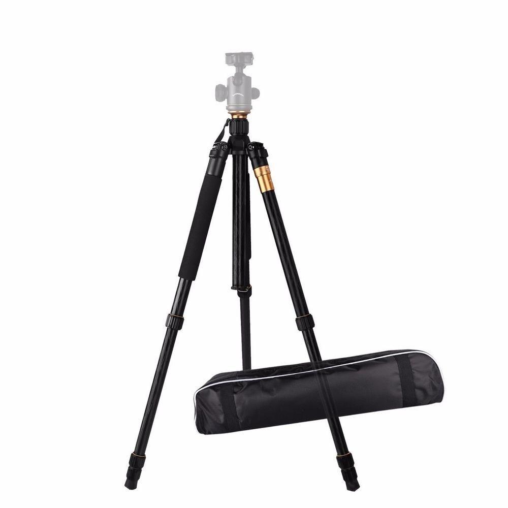 Алюминиевый Профессиональный штатив для видеосъемки, настольный гибкий держатель, монопод, ES-Q999, без шаровой головки, для dslr-камеры, смартфона