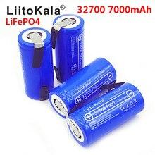 2020 LiitoKala Lii-70A 3.2V 32700 7000mAh LiFePO4 batterie 35A décharge continue Maximum 55A haute puissance batterie + Nickel feuilles