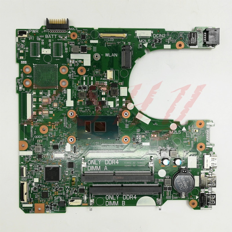 CN-0DKK57 FOR DELL 3568 Laptop motherboard With SR2ZU i5 CPU DDR4 15341-1 91N85 0DKK57 DKK57 MainBoard 100% Tested