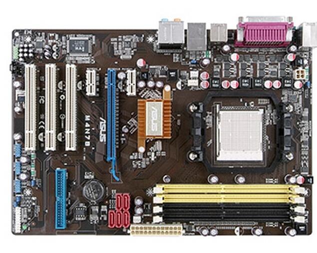 Zócalo AM2 para ASUS M4N78, placa base de escritorio usada Original DDR2 USB2.0 SATA2