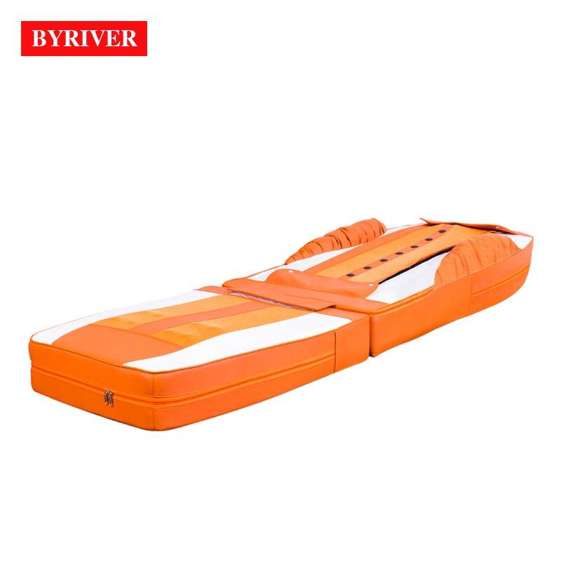 حصيرة التدليك الحرارية من BYRIVER ، طاولة التدليك ، سرير كامل ، غير لامع فقط