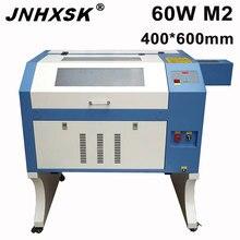 JCHXSK cnc 4060 M2 graveur laser 60W cnc laser co2 laser machine laser gravure sur bois M2 système de contrôle contreplaqué MDF