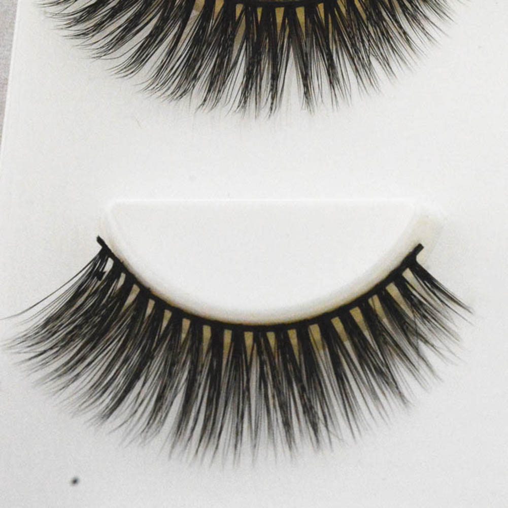 Women 3D Multilayer Thick Long False Eyelashes Extension Makeup Beauty Tools
