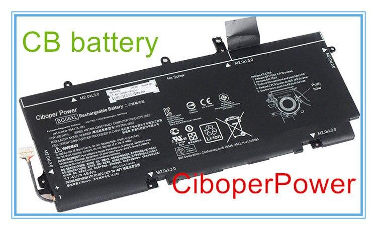 Original ordenador portátil batería BG06XL 11,4 V 45Wh para 1040 G3 HSTNN-IB6Z