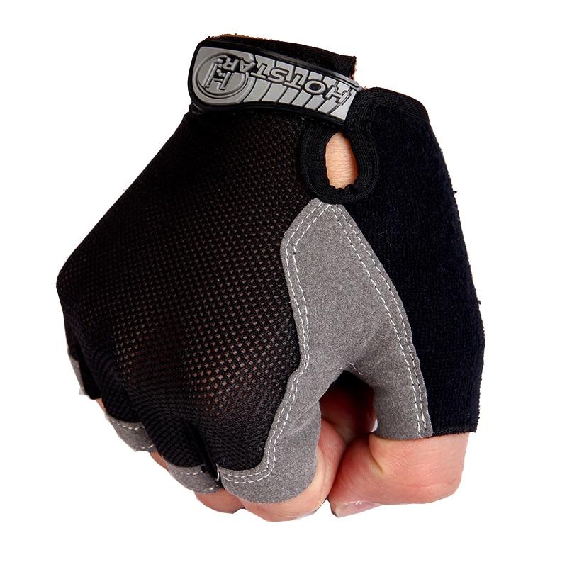 Спортивные перчатки для тренажерного зала, для мужчин, для фитнеса, для тренировок, противоскользящие, для поднятия веса, перчатки, половина...