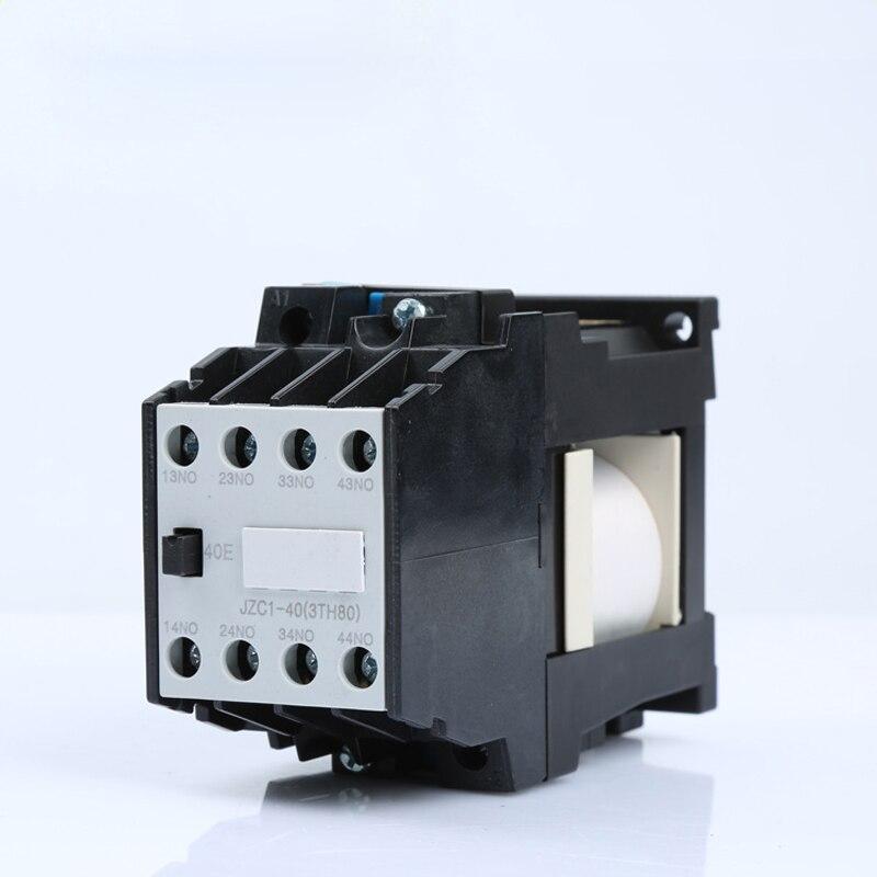 DC JZC1-40Z DC24V/36 V/72 V/110 V/220 V contactor tipo relé intermedio