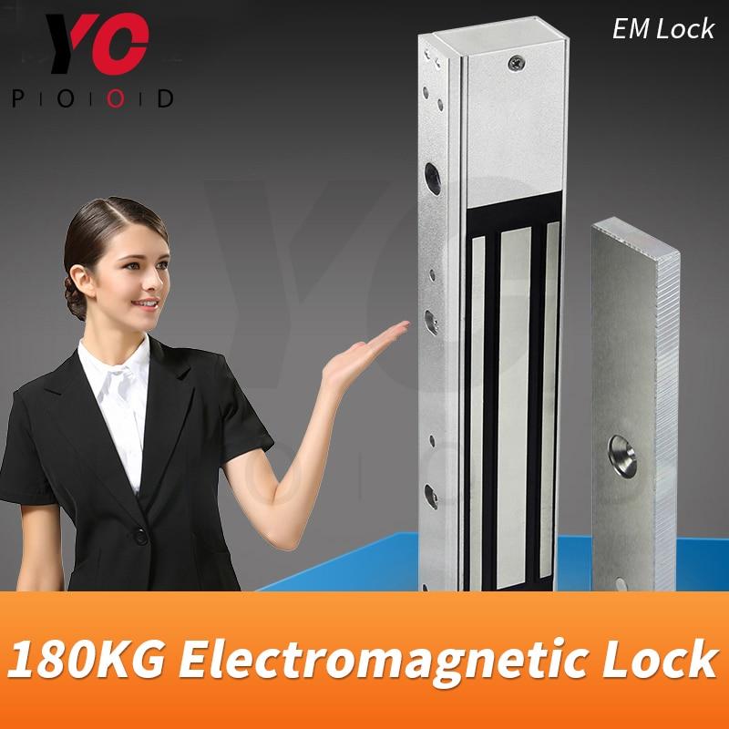 شفط 180 كجم EM قفل قطع غيار غرفة الهروب تثبيت القفل الكهرومغناطيسي على الباب أو صندوق لفتح أو إغلاق لعبة YOPOOD
