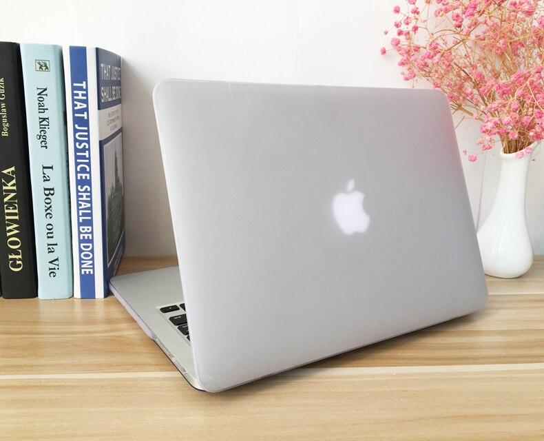POSEIT para Macbook Air 11 13 funda de plástico duro para Mac Book Air 13,3 11,6 pulgadas cubierta de la cáscara del ordenador portátil + película protectora del teclado