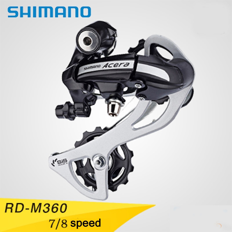 RD-M360 7/8 piezas de bicicleta de montaña bicicleta desviador trasero SHIMANO Acera Reparación de piezas de repuesto de bicicleta