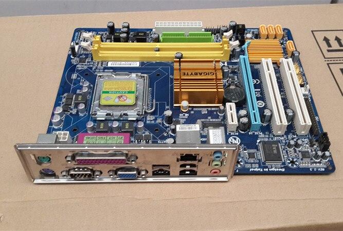 100% original envío gratis placa base para Gigabyte GA-G31M-S2C G31M-S2C G31M DDR2 LGA775 de estado sólido integrado envío gratis