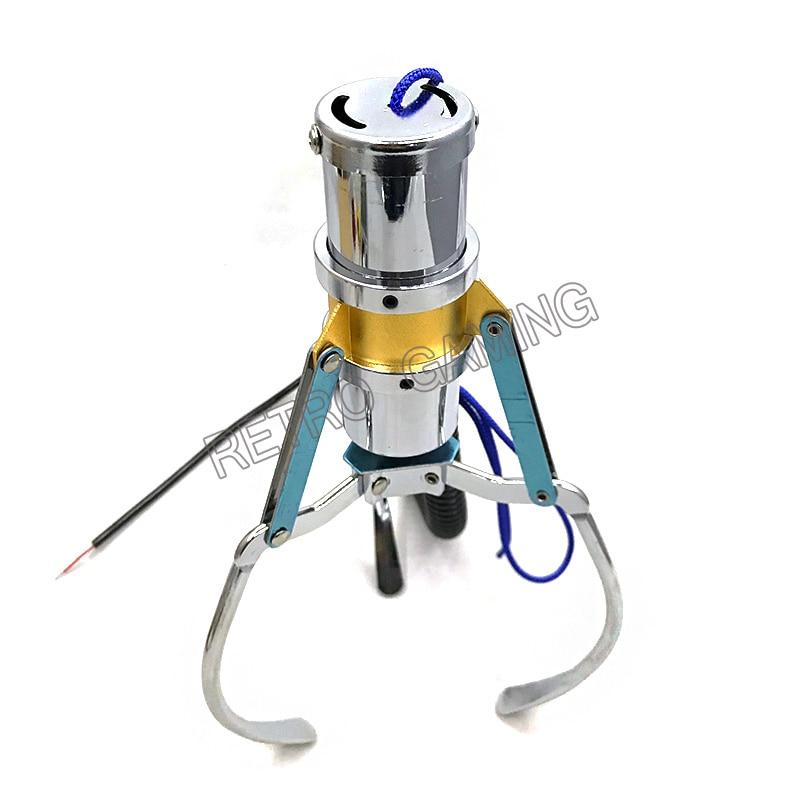 4 unids/lote garra de pórtico de grúa de tamaño L para máquina de muñecas de Arcade/máquina expendedora/máquina DE REGALO/accesorios de grúa de juguete
