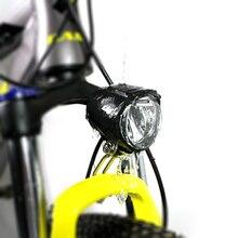 Gran oferta, luz frontal LED de 6V resistente al agua para bicicleta eléctrica BBS BBS01B BBS02B BBSHD, Kit de conversión de Motor medio