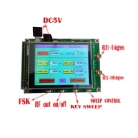 new adf4351 rf sweep signal source generator board 35m 4 4g stm32 tft touch lcd