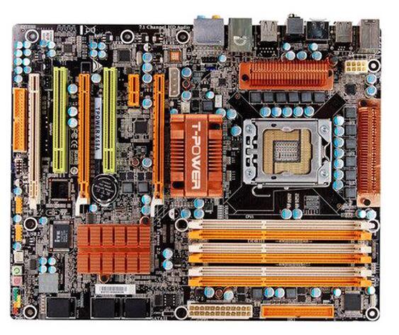 For BIOSTAR TPower X58A Original Used Desktop Motherboard X58 LGA 1366 DDR3 24G