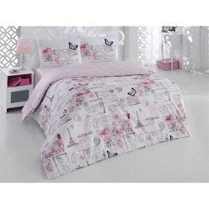Crystal 100% Cotton Bedding Set, Home Textile Bedding Set, Bedspread, Duvet Cover Flat Sheet Pillow Case Wholesale Turkey Belle