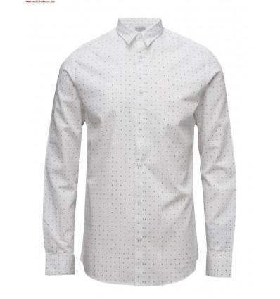 JACK JONES SHDONE-NEWTONCAMP camisa informal blanco Hombre