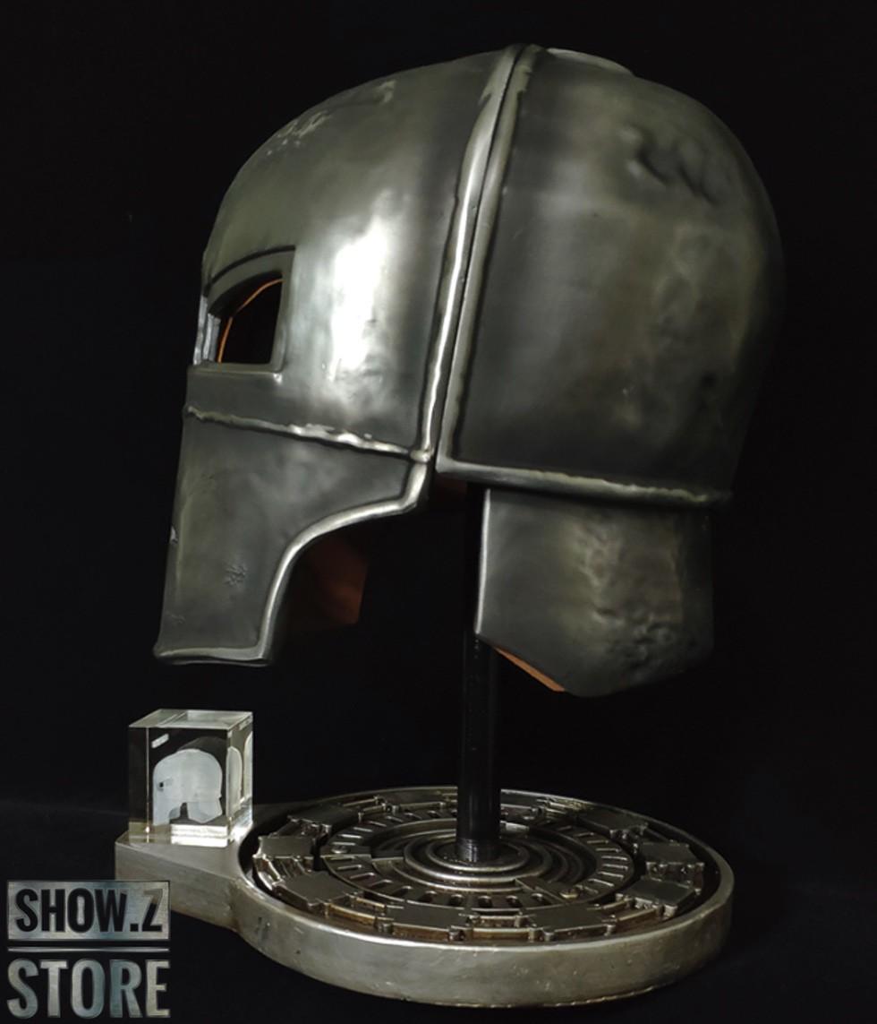 [Show.Z Store] [Metal Made] HCMY 1:1 Iron Man MK1 Mark1 MK-1 Helmet Replica Lifesize