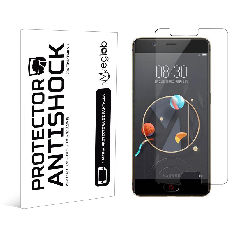 Protector de pantalla Anti-Shock Anti-arañazos Anti-rotura compatible con ZTE Nubia M2