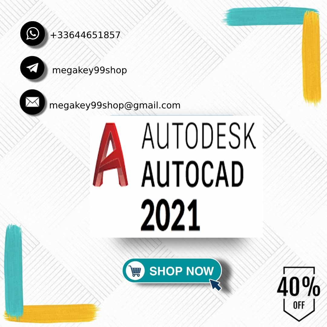 {✔️Autodesk AutoCAD 2021 скачать и лицензионный ключ (1 год)Полная версия Windows✅Посмотреть описание✅✔️}