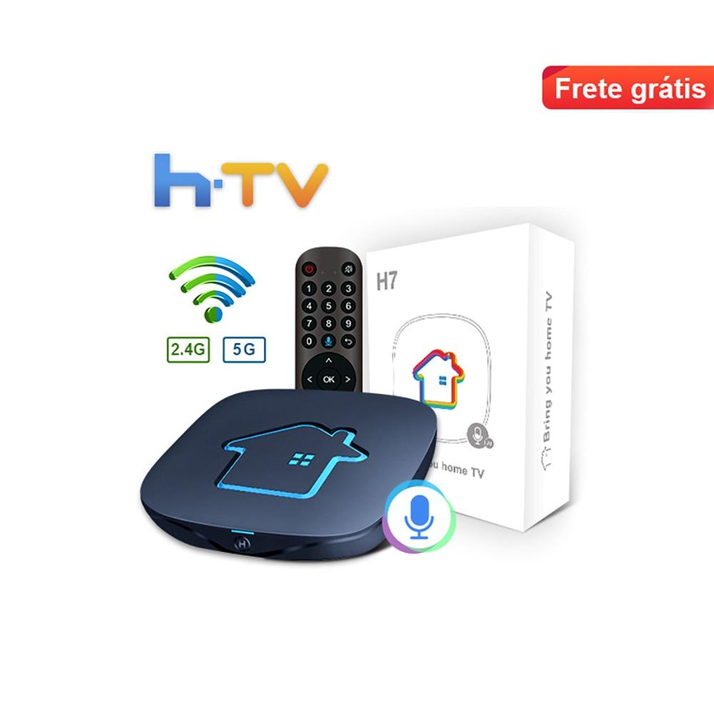 HTV H7 4k HD 5G Декодер каналов кабельного телевидения