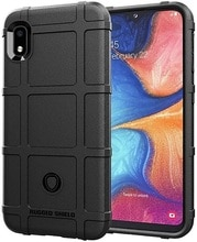 Coque Samsung Galaxy A10 (Galaxy M10) couleur noir (noir), série Armor, caseport