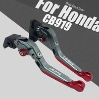 cb919 for honda cb919 2002 2003 2004 2005 2006 2007 motorcycle cnc aluminum adjustable folding extendable brake clutch levers