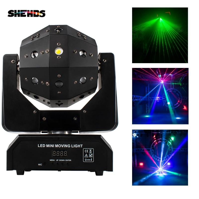 SHEHDS-مصباح ليزر للحفلات والمسرح والديسكو ، 3 في 1 ، 16x3w ، مع رأس متحرك