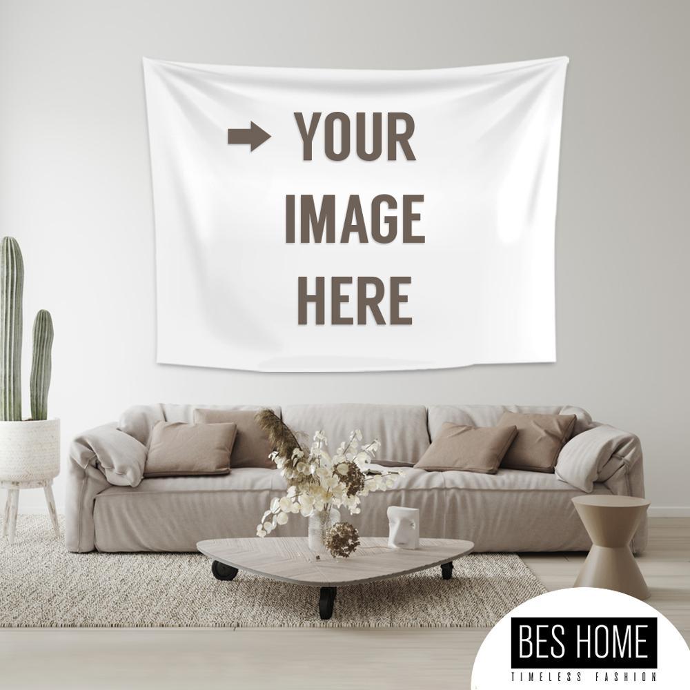 Индивидуальные гобелен настенный напечатать ваше фото эстетическое гобелены одеяло из полиэфирной ткани Спальня домашнего декора в богем...
