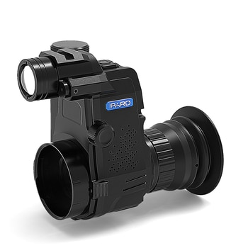PARD NV007S  280M IR waterproof digital colip-on night vision scope Record video  Wifi  App   rifle scope
