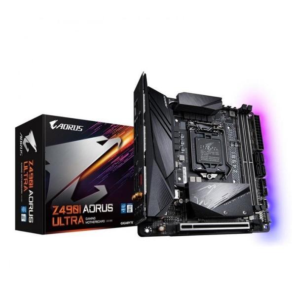 Motherboard Gigabyte Aorus Z490I Ultra mITX DDR4 LGA1200