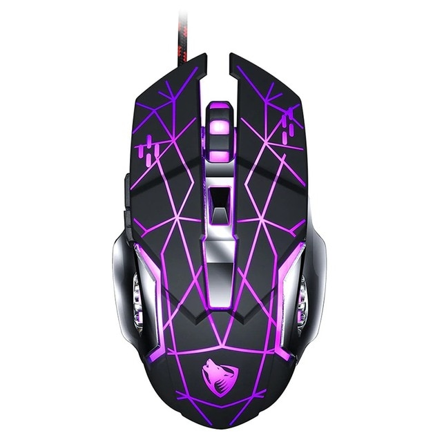 Wired Gaming Mouse USB Optical Gamer Mouse Ergonomic Mice 6 Buttons 3200DPI Computer Programmable Mouse For PC Laptop Desktop 10