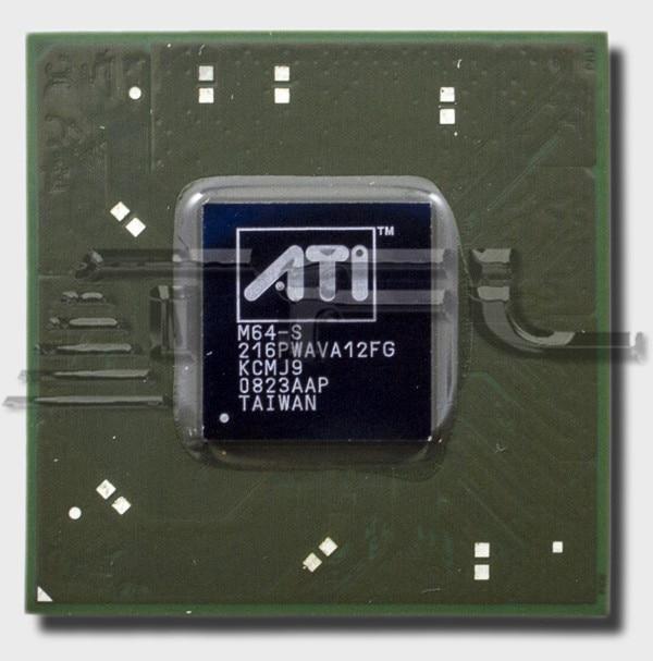 Chip de vídeo ATI Mobility Radeon x2300... m-64s... 216pwava12fg