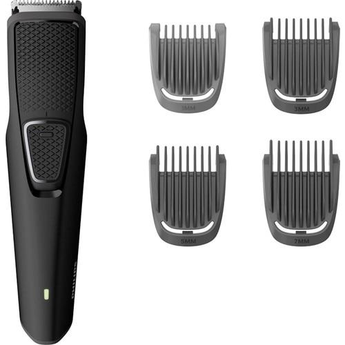 Philips BT1214 con hoja de titanio, inalámbrico, recortador de pelo, cortadora de pelo, enchufe europeo, ancho de hoja 32mm, abs, plástico, de Turquía