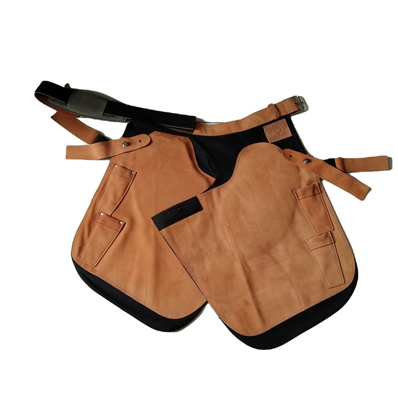 Cavassion Equestrian Cowhide Leather Horse Repairing Apron for Knight repairing Horse Feet