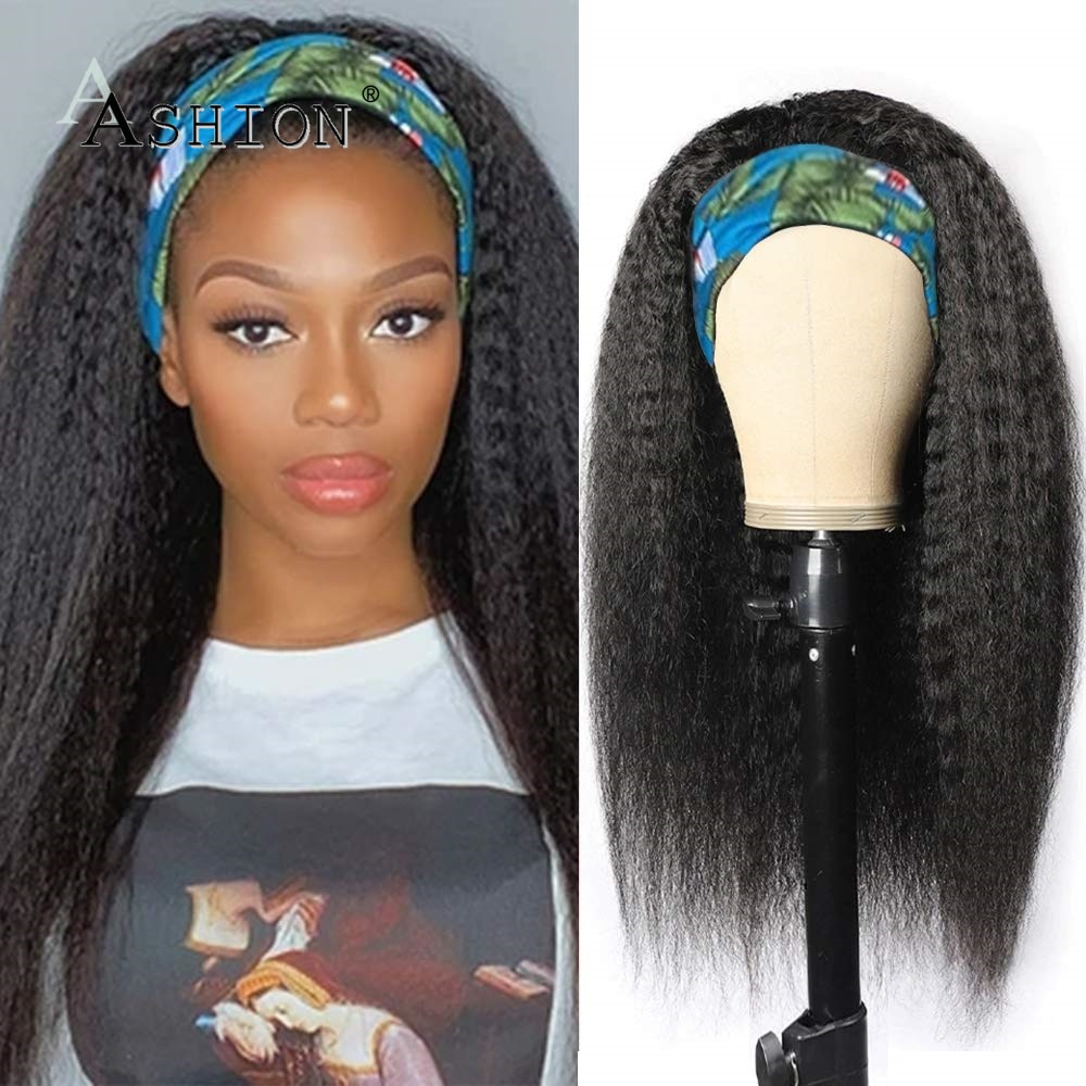 longo kinky peruca reta peruca peruca de cabelo humano para as mulheres negras malaio