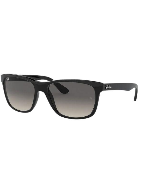 Rayban 4181 601/71 57 Wayfarer Model Sunglasses Black Frame Grey Gradient Lenses High Quality Vision