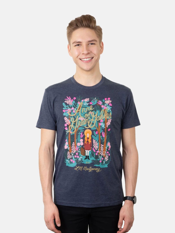 Drukowane camiseta muzeum ani z zielonego wzgórza (Puffin w rozkwicie) T-Shirt Unisex 100% bawełna kobiety koszulka z krótkim rękawem