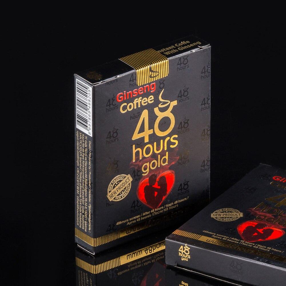 Aphrodisiac Golden Coffee Ginseng Epimedium Herbal Performance Sex Male 48 Hours