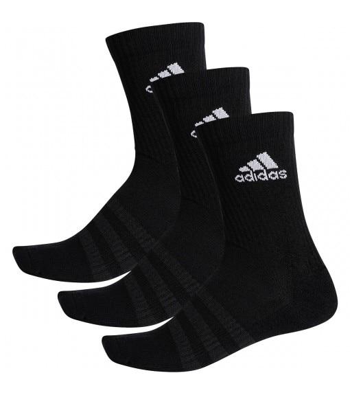 Adidas meias clássico amortecido logotipo preto branco dz9357