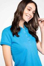 Defacto Vrouw Zomer Effen Kleur Polo Shirts Vrouwelijke Casual Korte Mouw Polo Shirt Vrouwen Katoenen Top Shirts-G5765AZ17SP