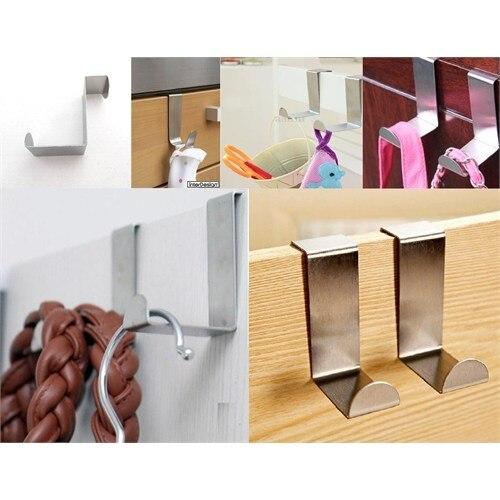 Металлическая Вешалка 4 шт набор, дверная вешалка, металлическая вешалка, тканевая вешалка, вешалка