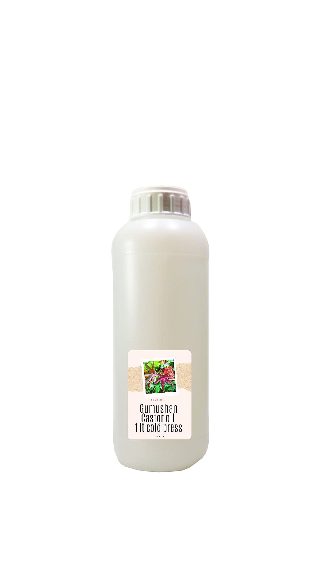 High quality pure Castor Oil 1 liter 34 fl oz 1000ml