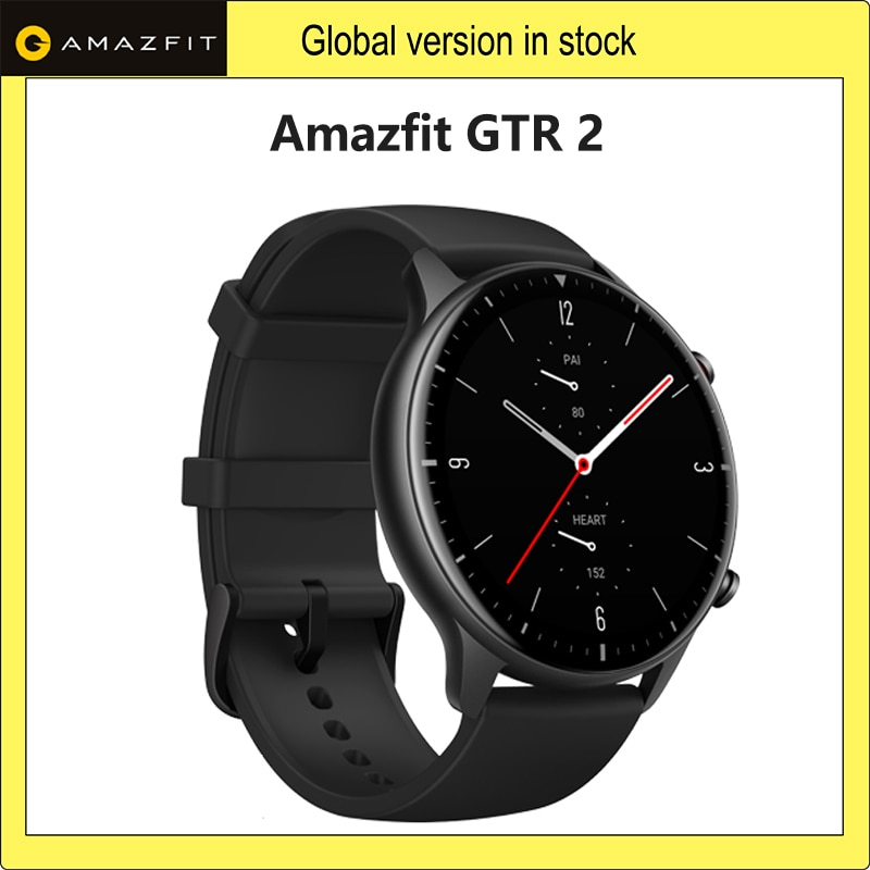 Amazfit GTR 2 Smartwatch 14 Days Battery Life 5ATM Confident Time Control Sleep Monitoring Smart Wat