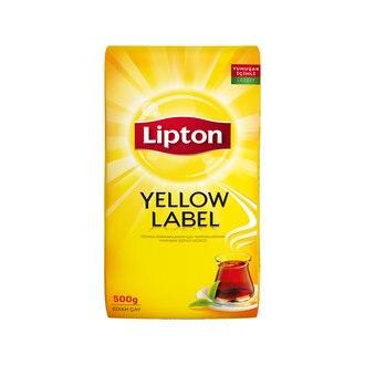 Pavo Lipton amarillo etiqueta a granel té negro 500 Gr