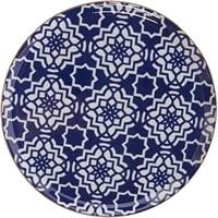 porland morocco purple porcelain plate set