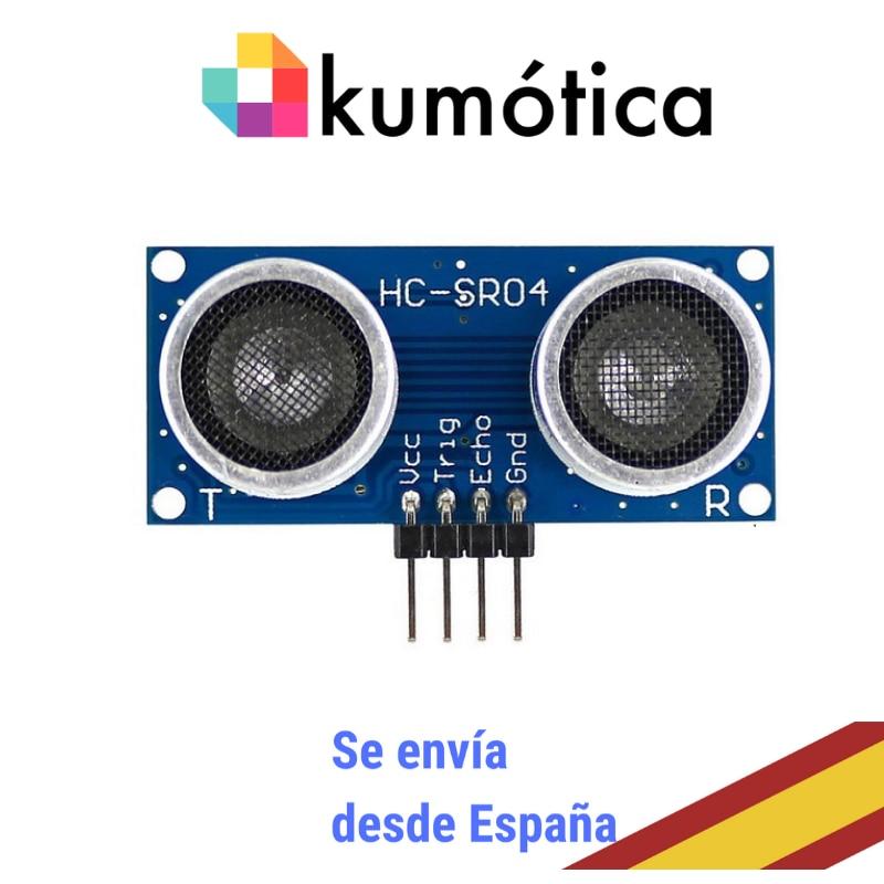 Módulo ultrasonidos HC-SR04 medidor distancia para tus proyectos maker / Arduino / Microbit