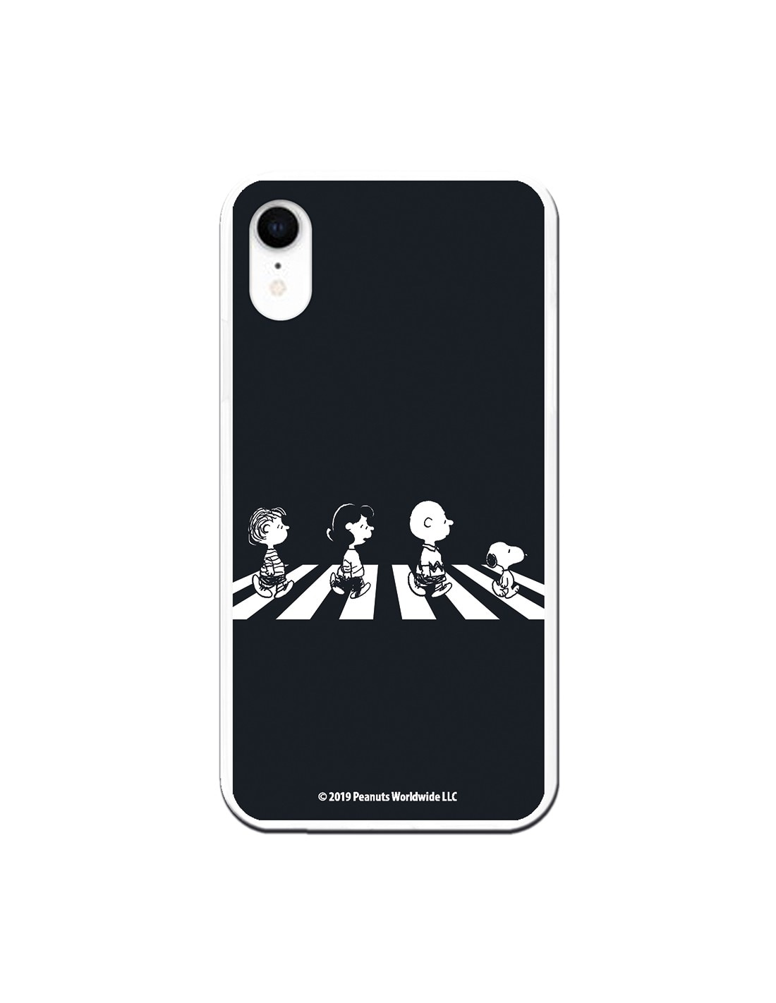 Funda para iPhone XR Oficial de Peanuts Personajes Beatles - Snoopy