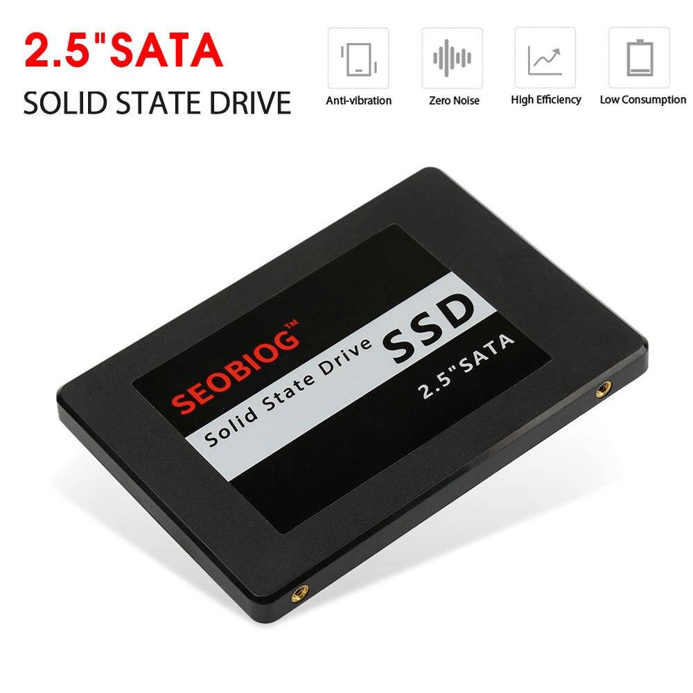 Disque dur interne ssd de 2.5 pouces, SATA 6.0 GB/s, Transmission à grande vitesse, pour ordinateurs portables, tout-en-un et autres PC commerciaux