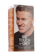 Juste pour les hommes toucher gris brun teinture progressive couvrant gris gris avec un ton marron